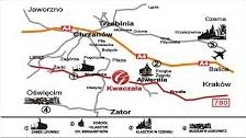 restauracja i noclegi gala mapa